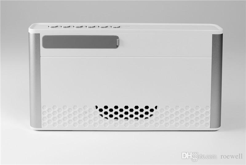 Mobile Audio Outdoor Wireless Bluetooth Speaker Dual Speaker HIFI Audio Card USB Portable Cannon Radio horn P2