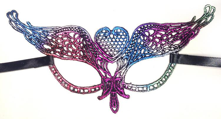New Halloween Lace Sexy Eye Mask Charm Women & Girl Eyemask for Masquerade Party Fancy Dress 15 Styles not stereotypes
