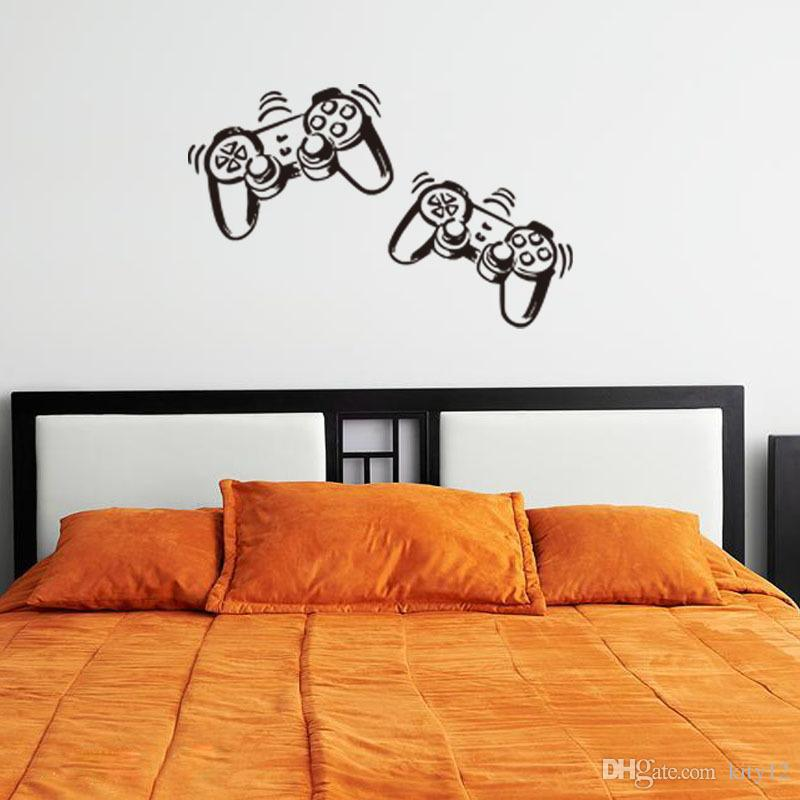New Game vinyl Wall Stickers gamer XBOX For Boys Bedroom Home Decoration Wall Mural