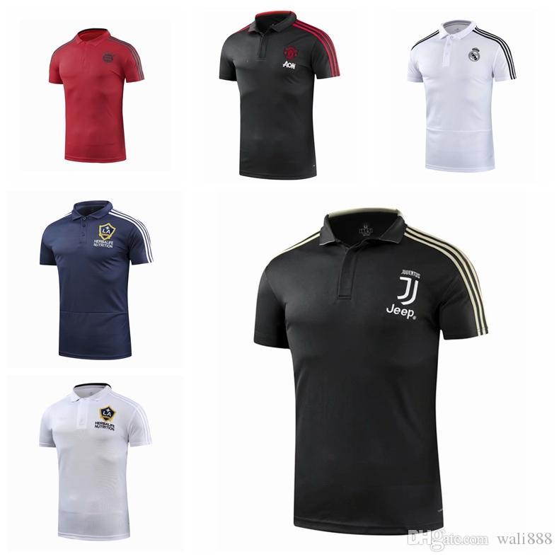 0dda59afc 2019 Top Thailand AAA+++2018 19 Juventus Soccer Jerseys Real Madrid Polo  MODR Black Soccer Jersey JuvlivMCN Soccer Football Uniforms Sport Shirt  From ...