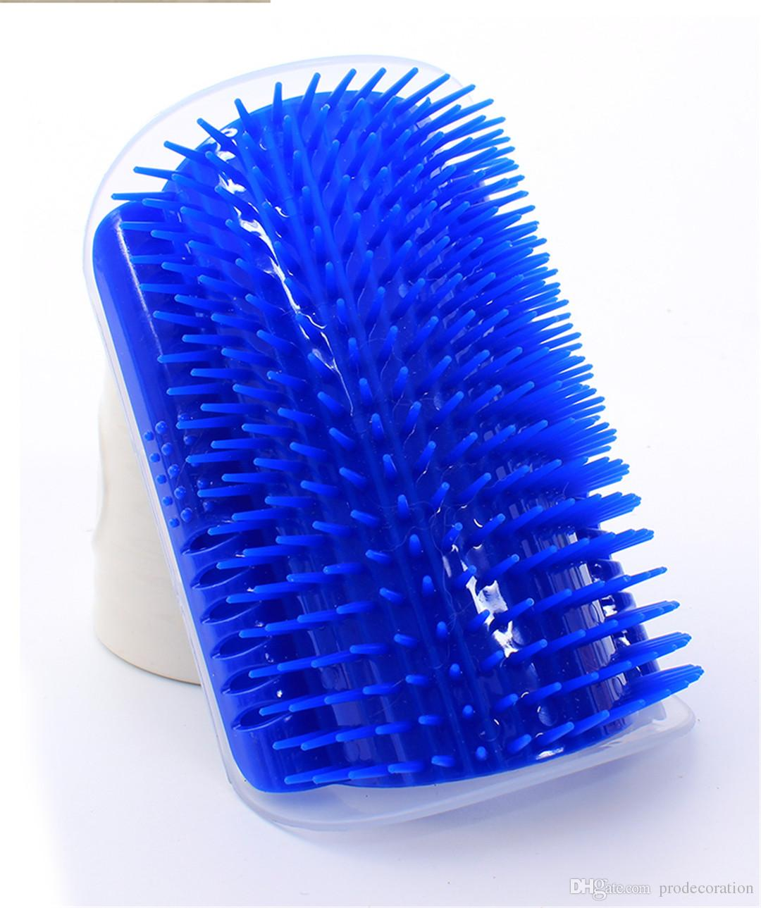 New Creative Pet Cat Self Groomer Grooming Tool Hair Removal Brush Comb for Dogs Cats Hair Shedding Trimming Cat Massage Device With Catnip