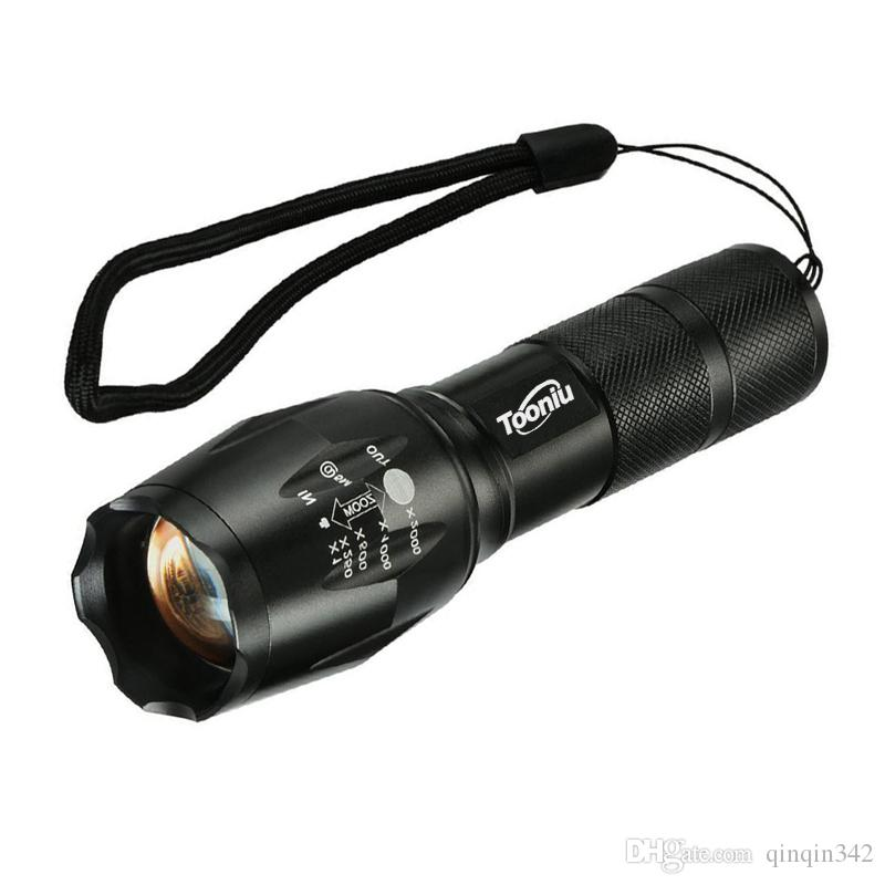 Review Discount Led Flashlight Tactical Flashlight 8000 Lumens Cree Xm L2 Zoomable 5 Modes Aluminum Lanterna Led Torch Flashlights For Camping From China For Your Plan - Popular best tactical flashlight Contemporary