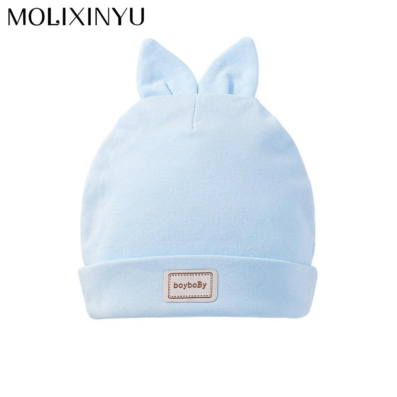 c35aa92d732 2019 MOLIXINYU Fashion Newborn Hats Baby Warm Rabbit Cap Protects Ear  Bonnet Baby Winter Hat + Scarf Suits For Boys Girls From Entent