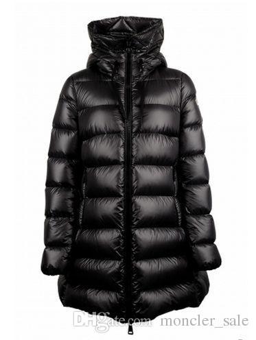 Acheter 2019 Designer Vestes Femme Hiver M Marque Long Style Chaud Noir  Doudoune Mode Européenne Canard Duvet Manteau À Capuche Parkas De  341.71  Du ... 293561e9a12
