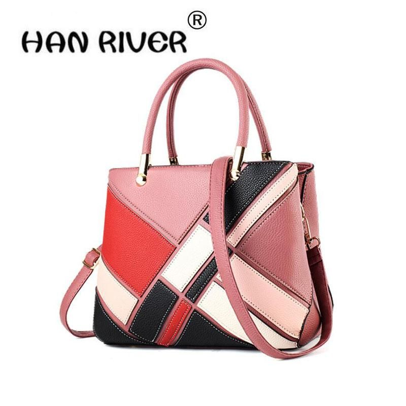 dcd5f83dbd9e HANRIVER 2018 Fashionable New Style Bag Lady Europe And America Big Bag  Fashionable Woman Slanted Shoulder Backpack Back To School Backpacks For  Girls For ...