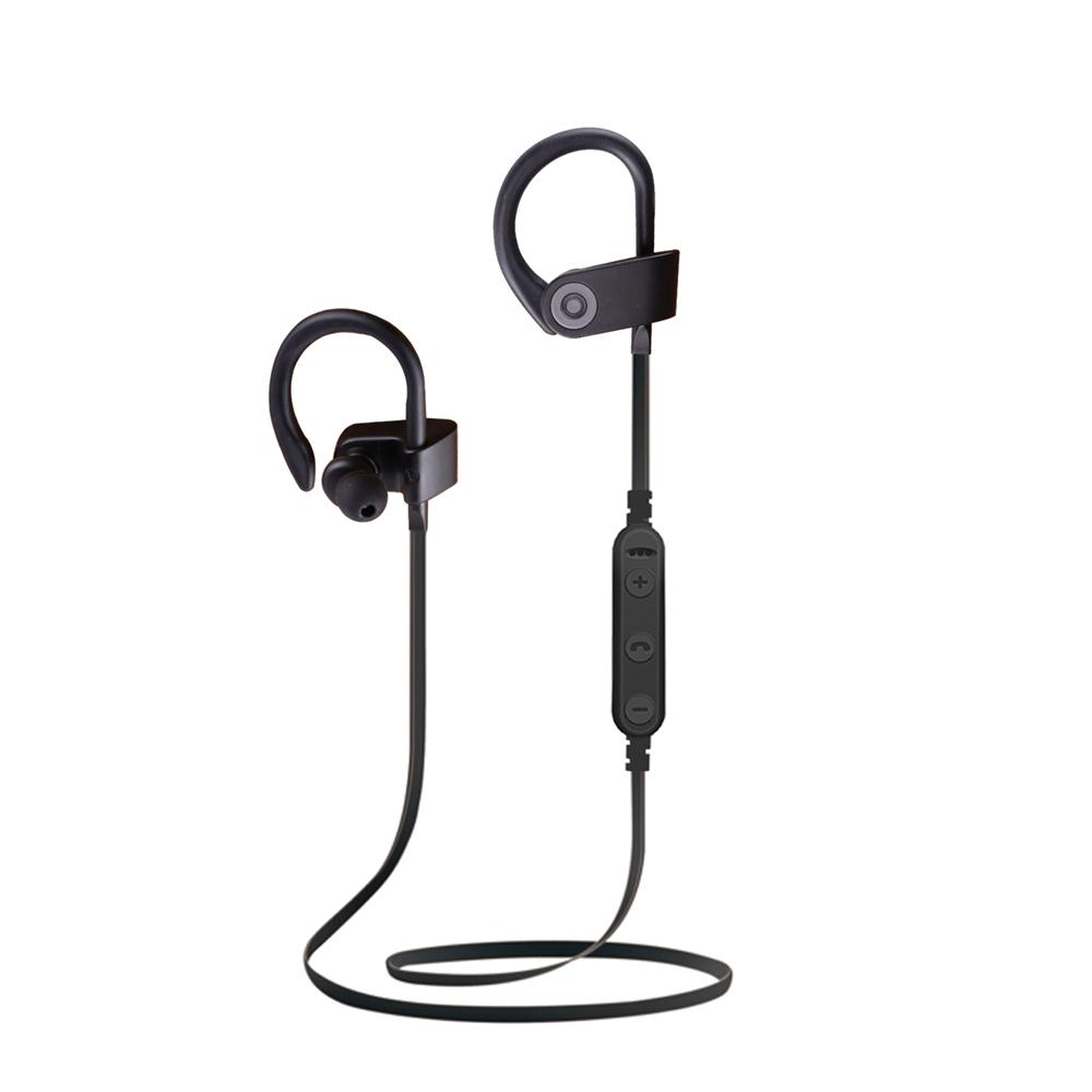 BT 007 Wireless Sport Earphone Bluetooth 42 Ear Hook Handset Hands Free Bass Headphone With Mic For Phones And Music Headsets Earphones