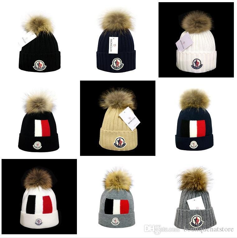 Brand Name Canada Hip Hop Beanies With Funny Pom Classic Fashion Casual  Winter Out Door Monc Wool Skullies Beanie Hat For Men And Women Beanies For  Women ... dbcc998a9