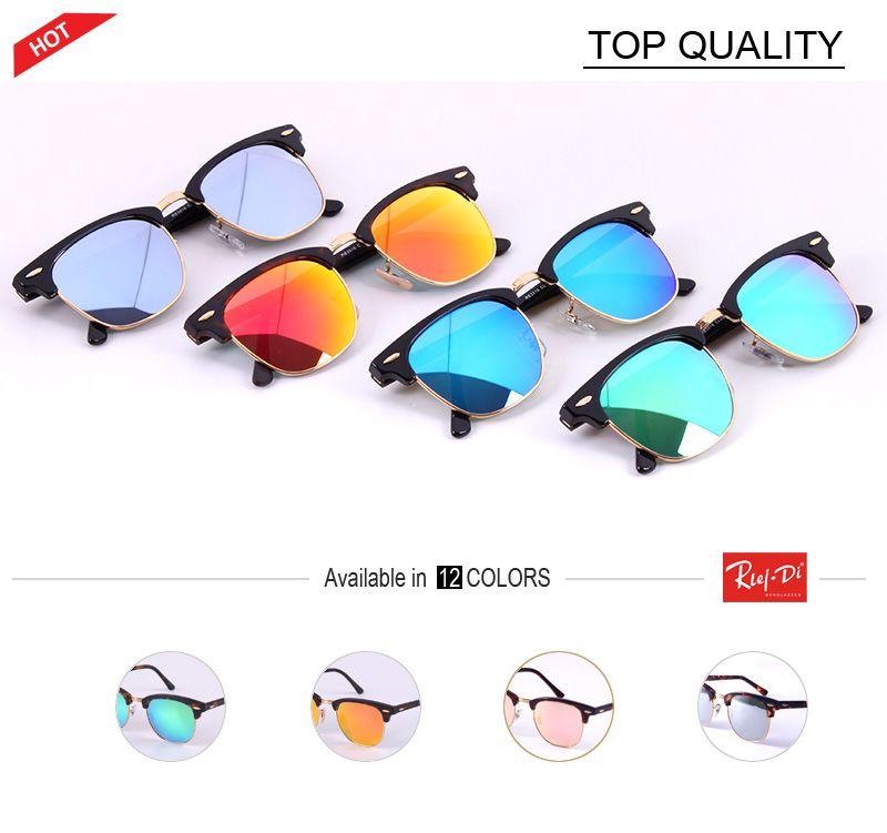 e7a78730d2 2018 HD Flash Mirror Club Sunglasses Men Women Driving Brand Cool Master  UV400 Fashion New Sun Glasses Feminin Oculos De Sol Designer Gafas Cheap  Eyeglasses ...