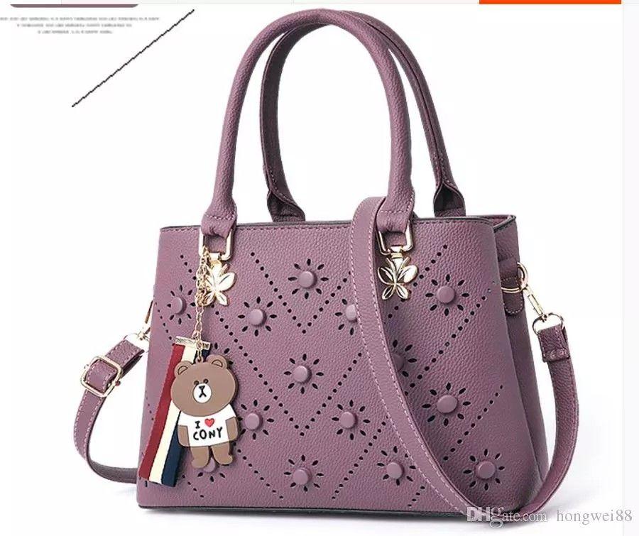 Großhandel Neue Art 2018 Mode Trend Handtasche Niete Tasche ...