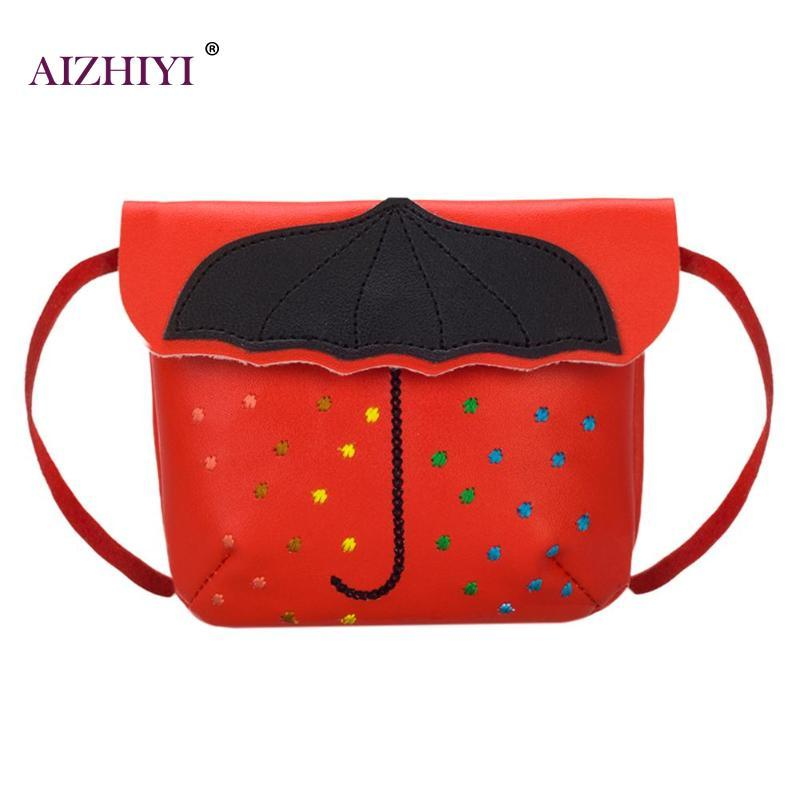 Children Kids Umbrella Mini Crossbody Bag Casual Cute Personality Flap Hasp Handbags  Girls PU Leather Shoulder Messenger Bag New Crossbody Bags Cheap ... d61225f3f4fe8