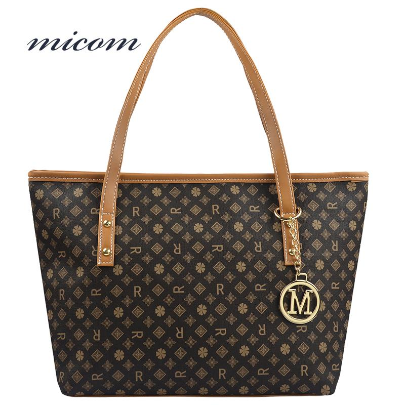 58ae5bc62888 Micom Printed Bag Female Luxury Handbags Women Bags Designer ...