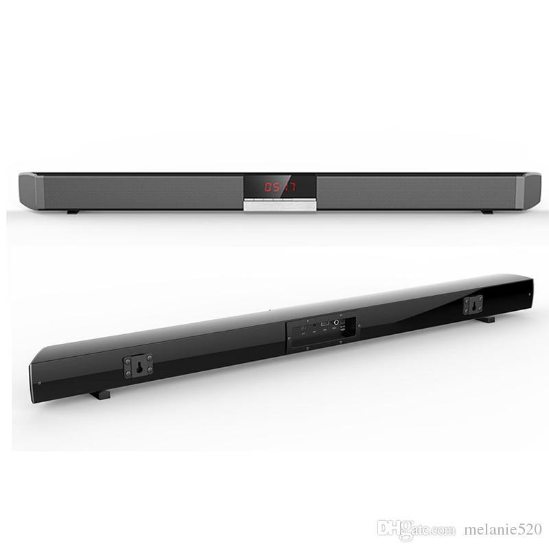 sr100 powerful bluetooth tv soundbar 40w wireless slim stereo