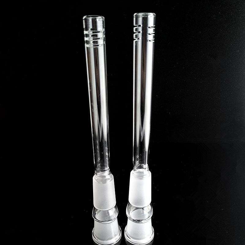 Glass Bongs 18mm Downstem Pipes Bong down stem for beaker bong smoking water pipe Oil Rigs Dab Heady Dabber