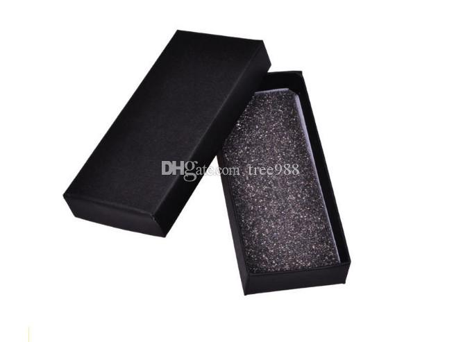 Black Keychain Gift Box Key Ring Square Paper Display Box Jewelry Packaging  Boxes