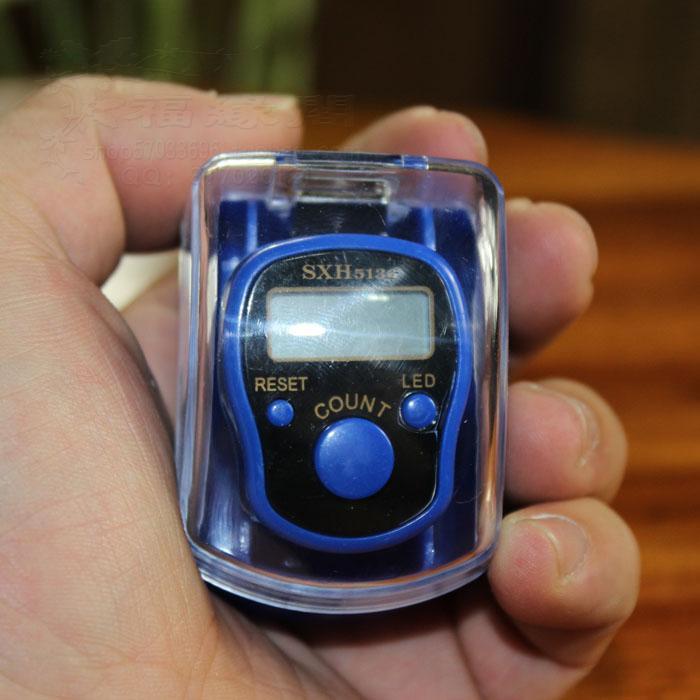 Contatore elettronico di LCD del conteggio di barretta della mano di Digital di numero di 5 cifre mini sport multicolori di golf con la scatola