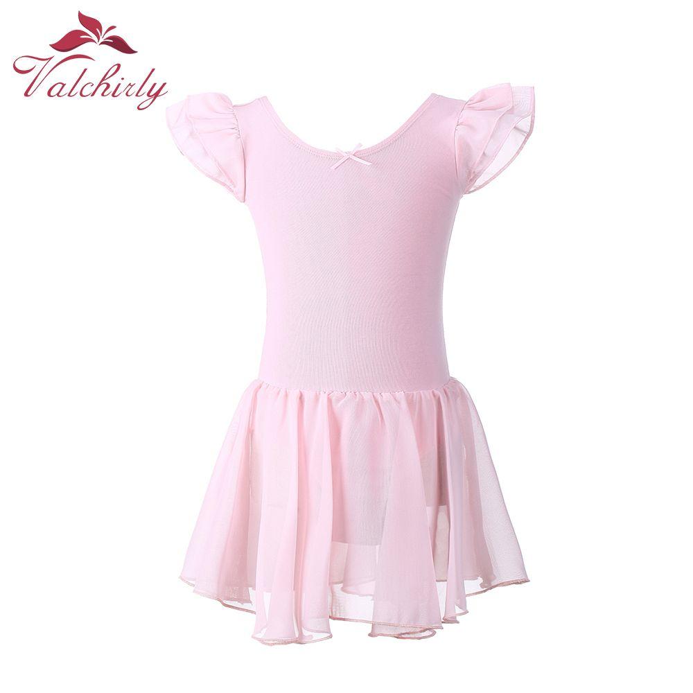 7cab1f32d Gymnastics Leotard for Girls Ballet Dress Kids Leotard Tutu Dance ...
