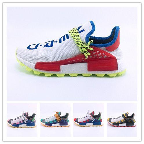 d774e38a2 Human Race 3 Pharrell Williams 3.0 Mens Running Sports Shoes Afro Hu ...
