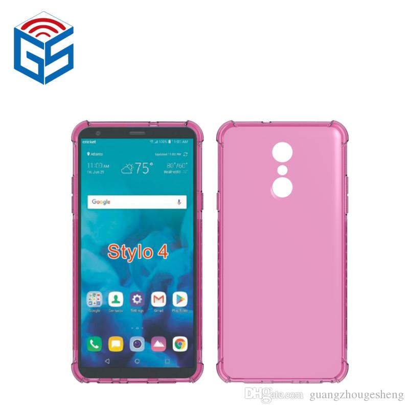 For LG Stylo 4 Clear Case Crystal Transparent Soft TPU Back Cover New Hot  Product 2019