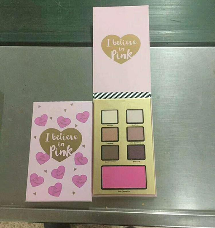 Christmas EyeShadow with three type i believe in pink/ natural beauty/ super fun night Palette kits