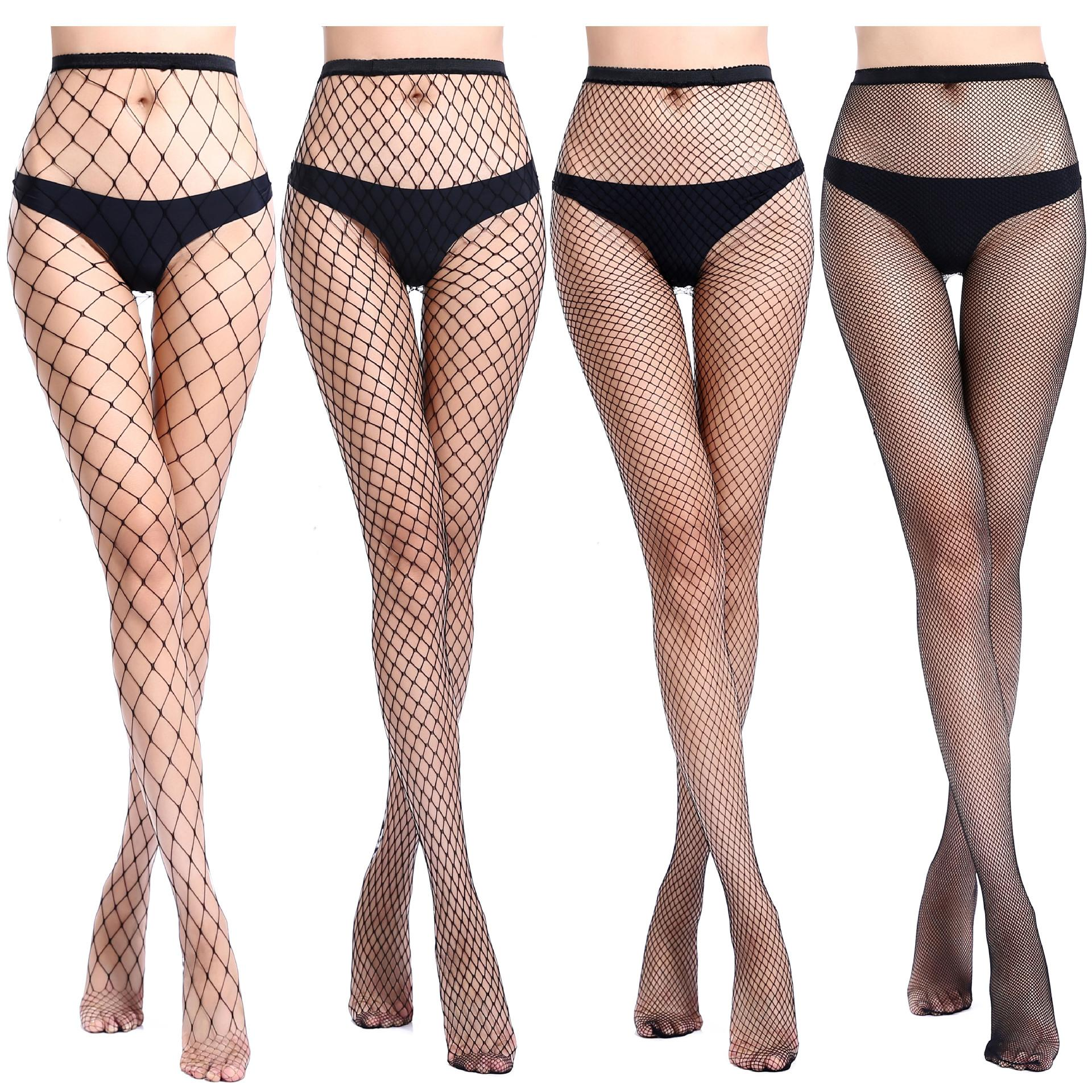 b1ff9632adc 2019 Sexy Fishnet Stockings Women Mesh Stocking Sexy Pantyhose Tights Ladies  Black Long Net Gothic Punk Stockings Pants Q From Pinkfashion