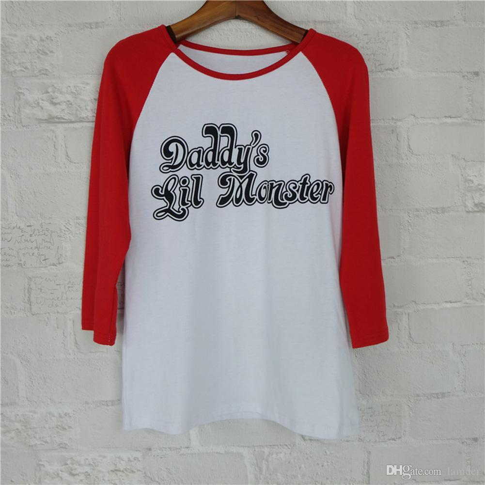 wholesale harley quinn t shirt suicide squad daddy lil monster women