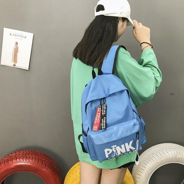 Acheter 2018 Lettre Rose Panther Pink Étudiants Backpack Imprimée nqHwqvOS8x