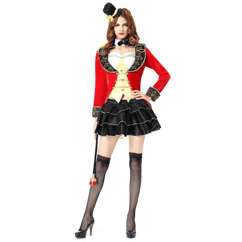 Scary Circus Costume Woman Sexy Magician Costume Sexy Halloween Costumes  For Women Adult Carnival Costumes Womens 6 Person Halloween Costumes Female  Group ... 5e677526f7