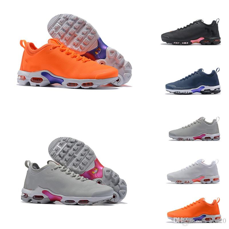 huge selection of 14f49 59856 Acquista Nike Mercurial Air Max Plus Tn 2018 Vendita Calda Scarpe Uomo  Mercuial TN Plus Scarpe Da Ginnastica In Pelle Color Ruggine Scarpe Da  Corsa Maschile ...