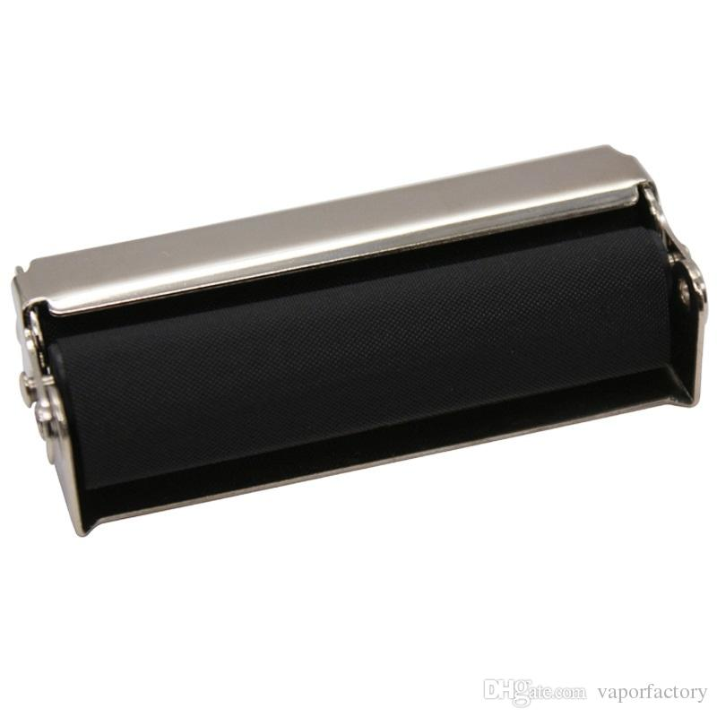 easy roller 70MM Hand Roller Portable Metal Cigarette Rolling Machine new tobacco maker DIY tool for 70 MM cigarette rolling paper Injector