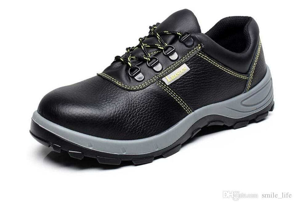 d36f8a228767 Email Lei Andun Shoes Men S Steel Toe Caps With Wear Resisting Oil Smash  Proof Electrical Insulation Shoes