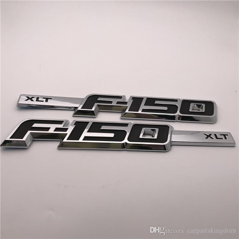 Custom 3D ABS Color F150 TXL guardabarros de la puerta lateral insignia emblema etiqueta placa Logo / Pair