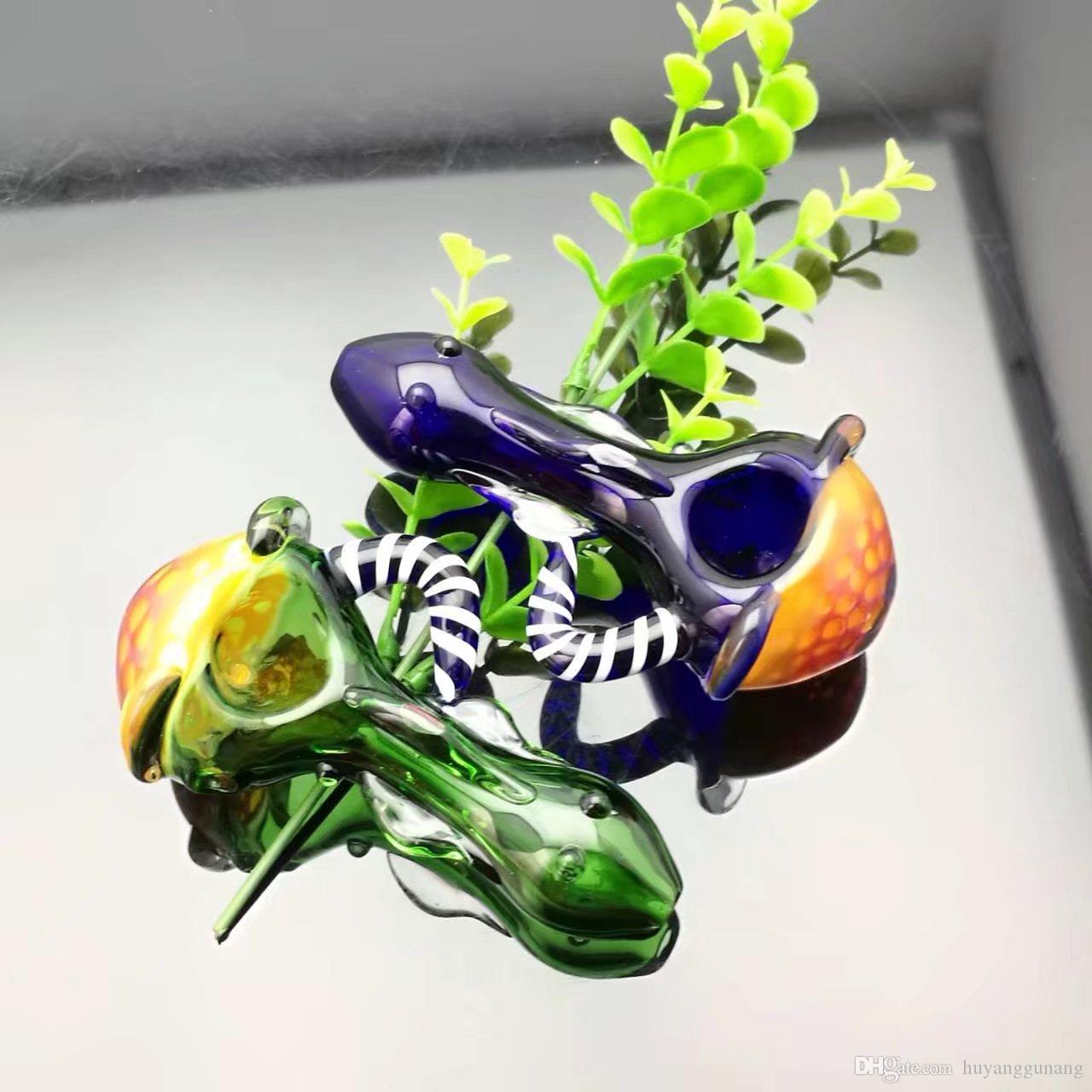 Panal de vidrio en color panal Venta al por mayor de vidrio Cachimba, accesorios de tubería de agua de vidrio, envío gratis