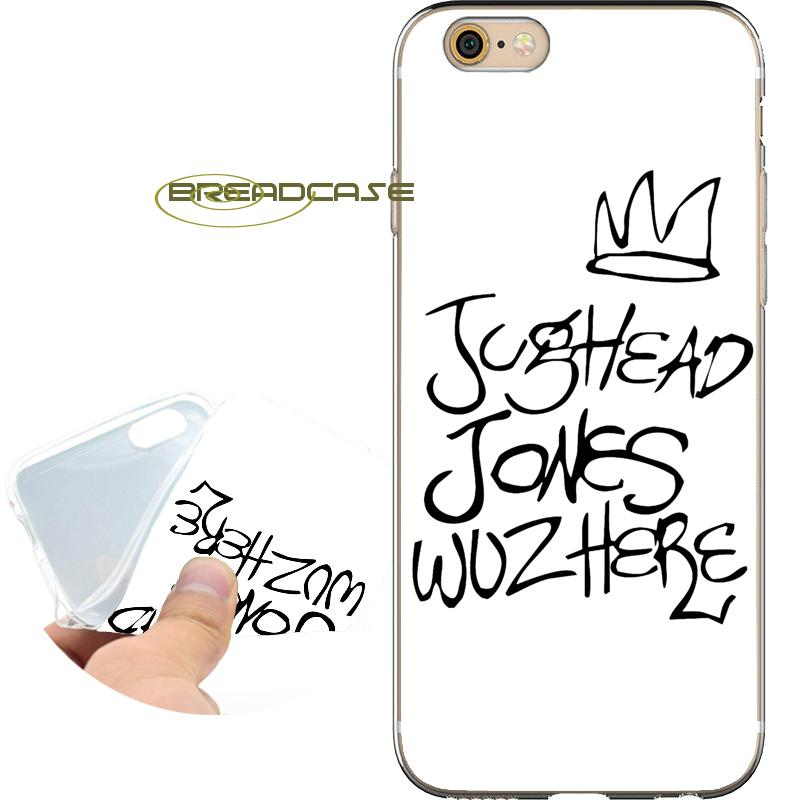 Coque Riverdale Jughead Quotes Cases For Iphone 10 X 7 8 6s 6 Plus