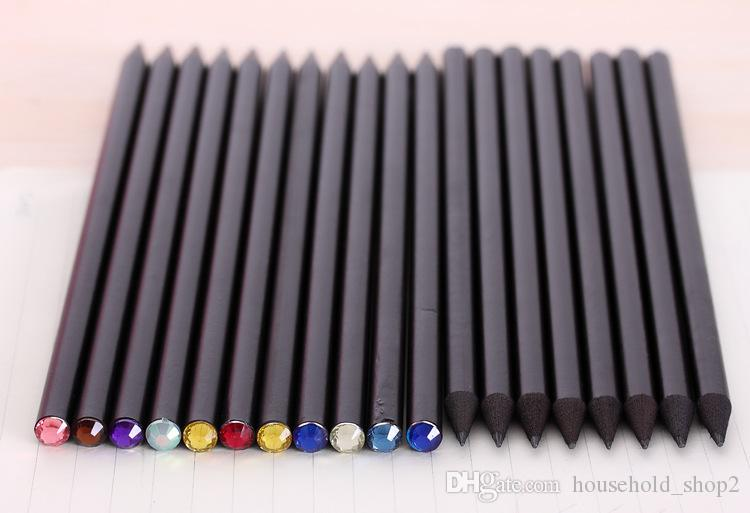 2018 Diamond Color Pencils Hb Stationery pencils Drawing Supplies For School Office Writing Supplies