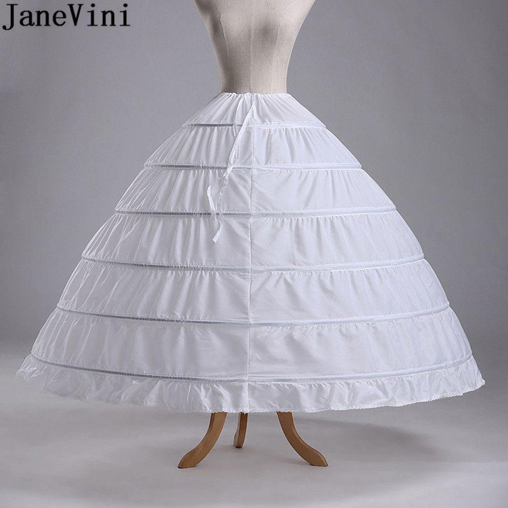 Enaguas Para El Vestido De Boda 5 Layers Ball Gown Petticoats White/red/black Big Ruffle Wedding Accessories Petticoat Petticoats Wedding Accessories