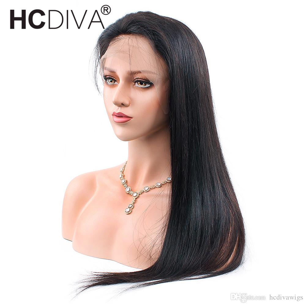 Indian Virgin Hair 13x3 Lace Front Human Hair Wigs For Black Women Indian  Remy Hair Lace Frontal Wigs Pre Plucked Cheapest With Good Quali Hair Wigs  For ... b861e9d6ce