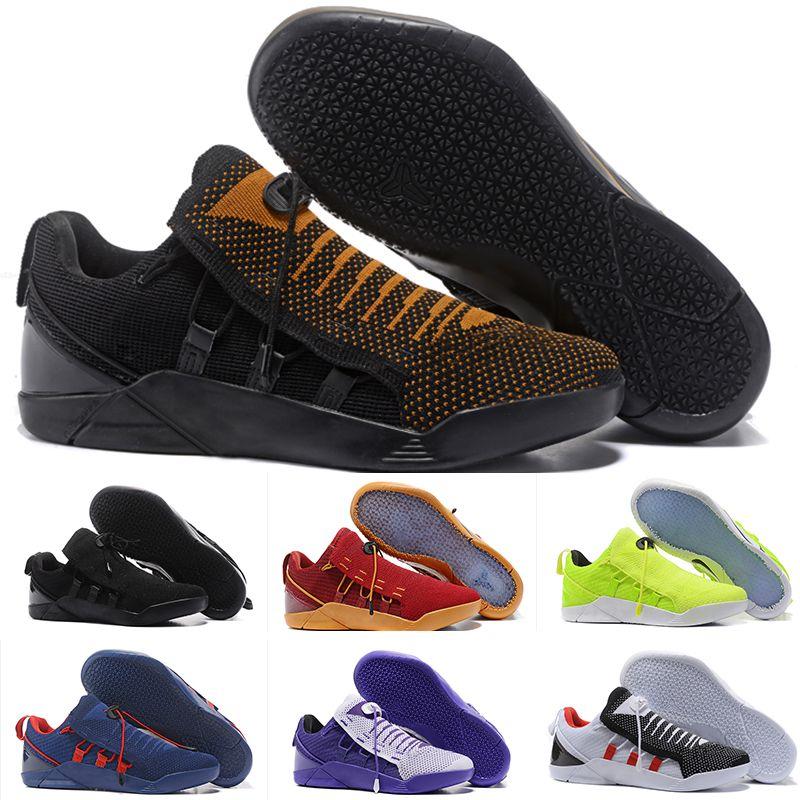 cheap for discount 59bd3 66e0b Acquista Nike KOBE AD NXT 12 Sneakers Nuovo 2018 Ingrosso Kobe KB 9 IX Elite  Nero Mamba Blackout Christmas High Top Uomo Basket Sport Scarpe Da Corsa ...