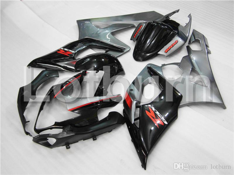 Motorcycle Fairing Kit Fit For Suzuki GSXR GSX-R 1000 GSXR1000 GSX-R1000 2005 2006 K5 Fairings kit High Quality ABS Plastic Injection A309