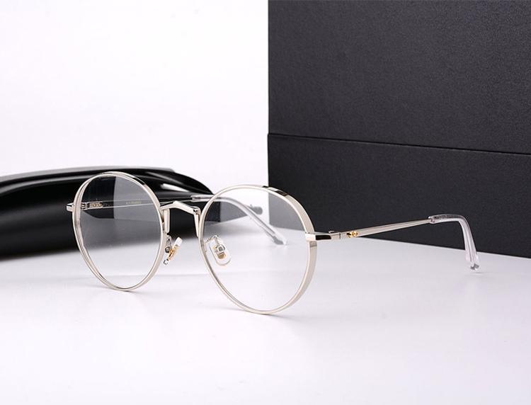 90d579c404e21 Compre Gentil Marca Óculos De Prescrição Óptica Do Vintage Quadro De  Titânio GM Frame Redondo Liberty Óculos Quadro Oculos De Grau Com Caixa De  Sunshine023