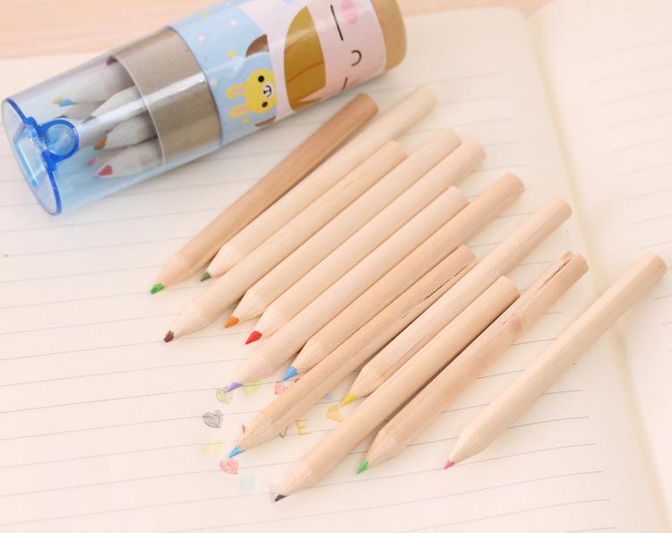 Multicolor Pencil Artist Professional Fine Drawing Painting Sketching Writing Drawing Pencil Box Cases Mini Stationary c524
