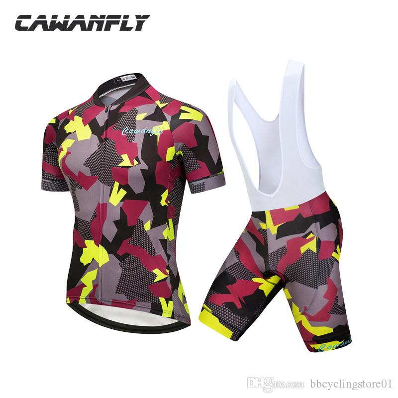 2018 Hot Cheap Price Army Color Cycling Clothing Short Sleeve ... d53d83016