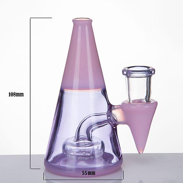 Awl Glass Water Pipes 4.3 Inch Banger Hanger 14mm Female Glass Bongs Dab Rigs Oil Rig Beaker Nail