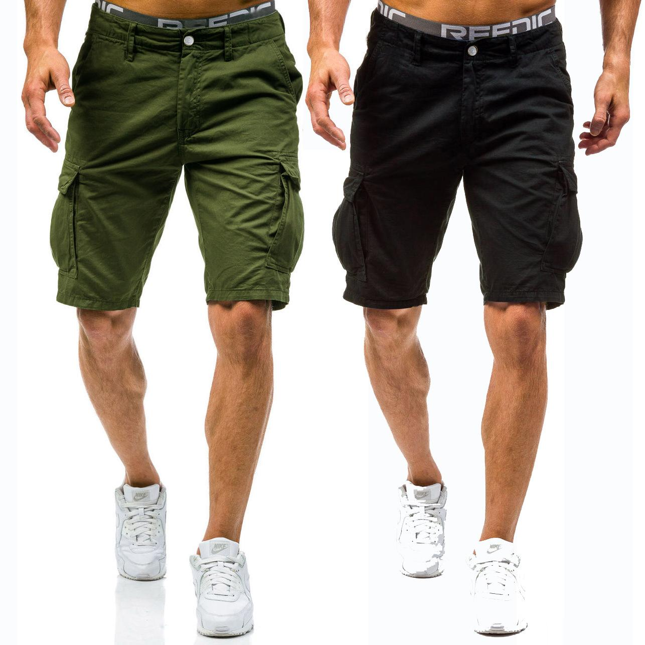 684164331c7 2018 Summer New Arrival Mens Cargo Shorts Cotton Short Pants ...