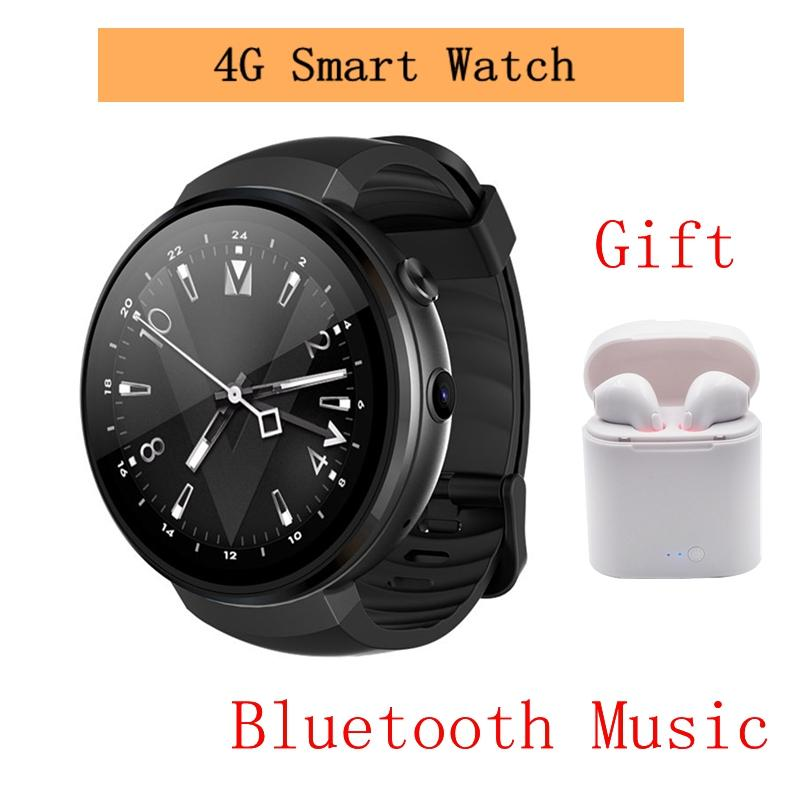 af129718fe7c92 NEW Z28 4G Smart Watch Android 7.0 RAM1GB+ROM16GB 580mAh GPS WIFI Hand Free  Call Smartwatch Heart Rate Monitor Pedometer Clock Kids Smart Watch Phone  Men ...