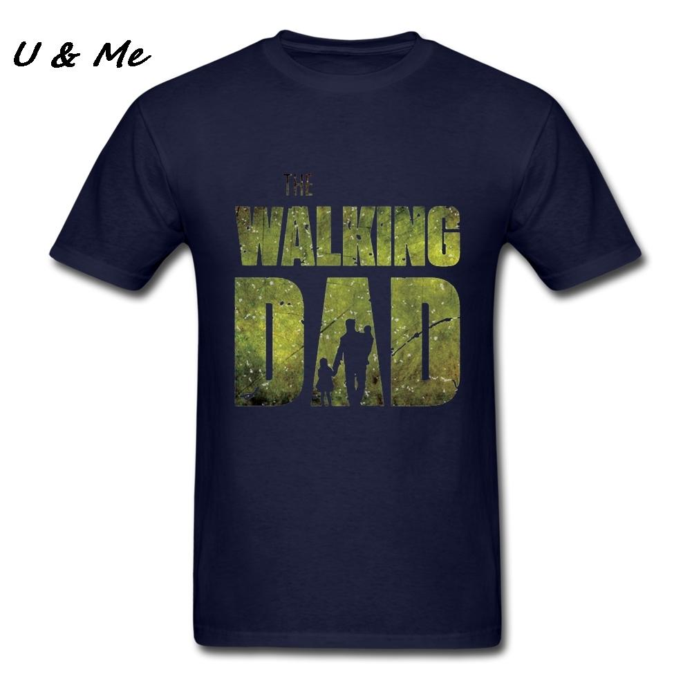 519522e5 Customized T Shirt Men Gift The Walking Dad Tshirt Cotton Father And Son Hi  Fashion T Shirt Adult Clothing Funny Printed Shirts Cool Tee Shirts Designs  From ...