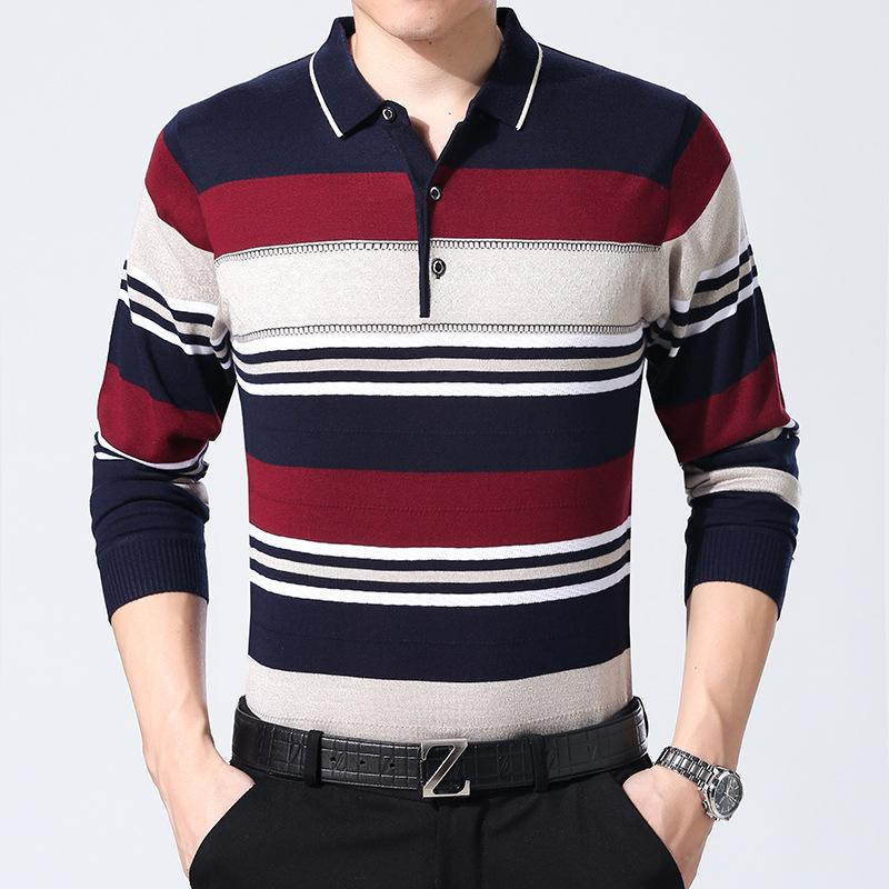 Compre Ropa Joven Nuevos Hombres Polo Camisa Hombre Negocios Casual Camiseta  Sólida Polo Masculino Polo De Manga Corta Camiseta Transpirable Top Polo A  ... bcf0aba113098