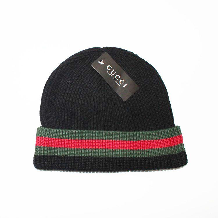 2018 Designer G Unisex Autumn Winter Men Brand Classic Knitted Hats ... 2b2ad80689e