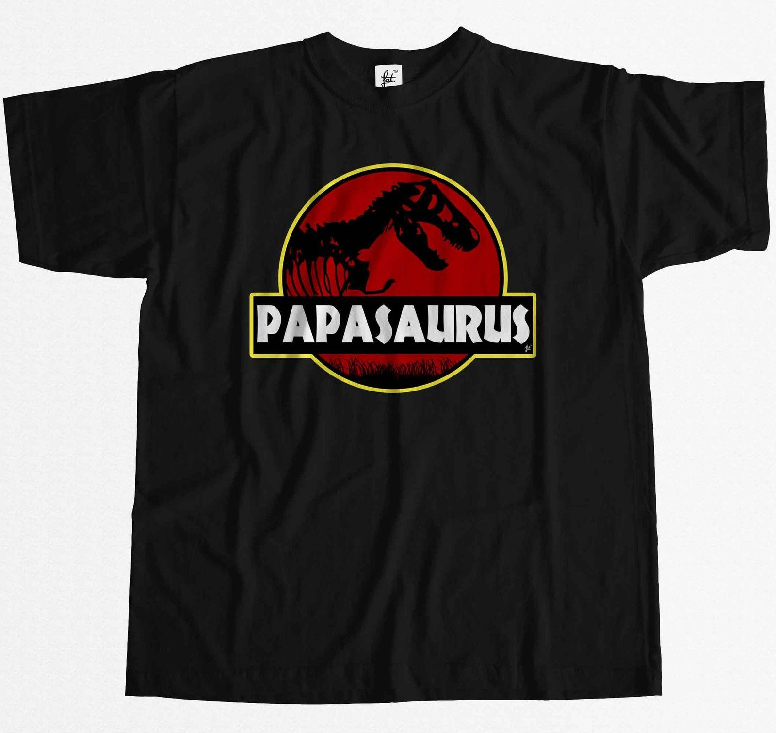 b050806b Papasauras Funny Dad Fathers Day T Rex Old Dinosaur Mens T Shirt Funny  Unisex Casual Shirt T Shirt Tee From Rocktothetop, $10.28| DHgate.Com