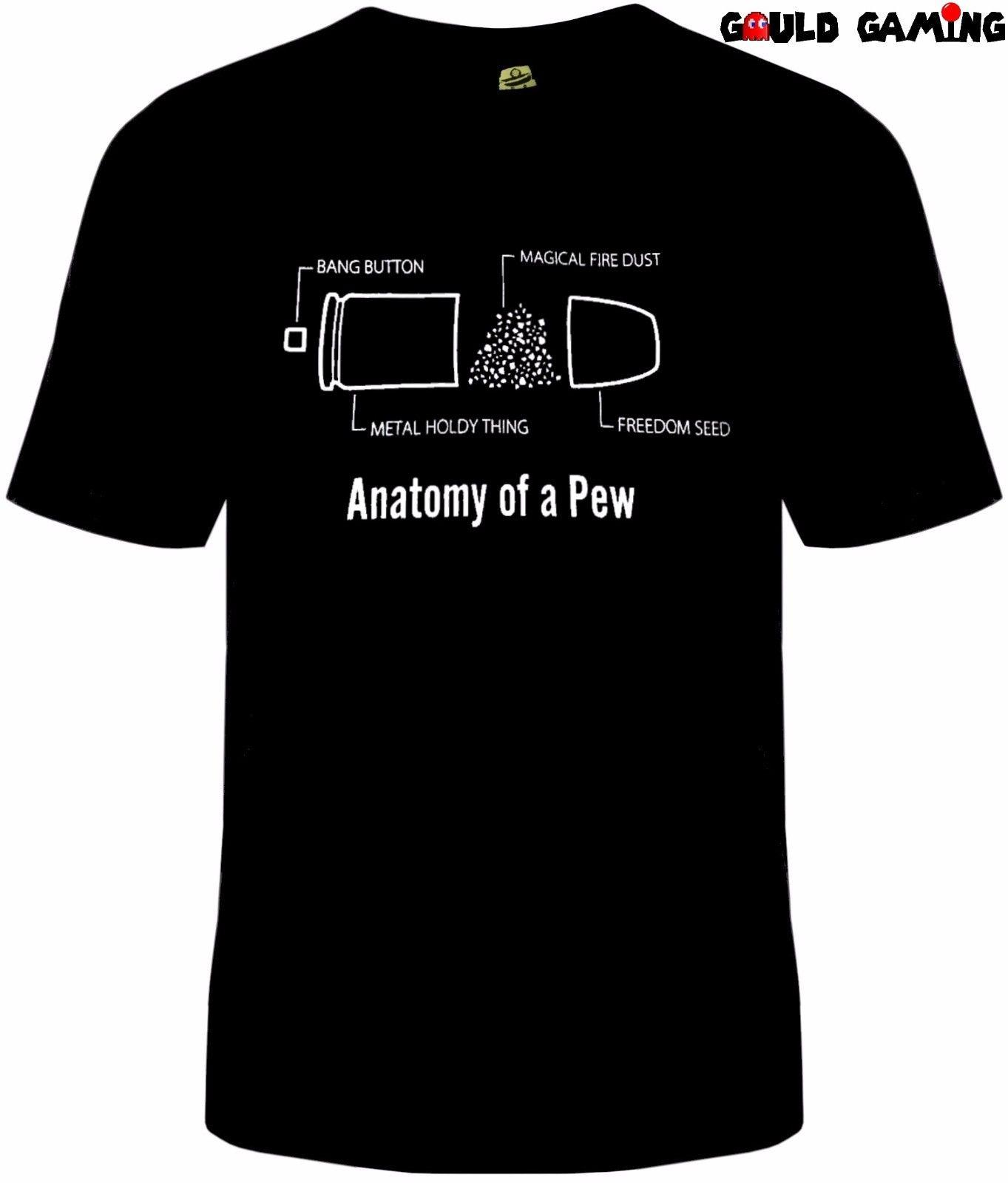 Compre Anatomía De Una Camiseta De Punto Negro Algodón Unisex Adulto ...