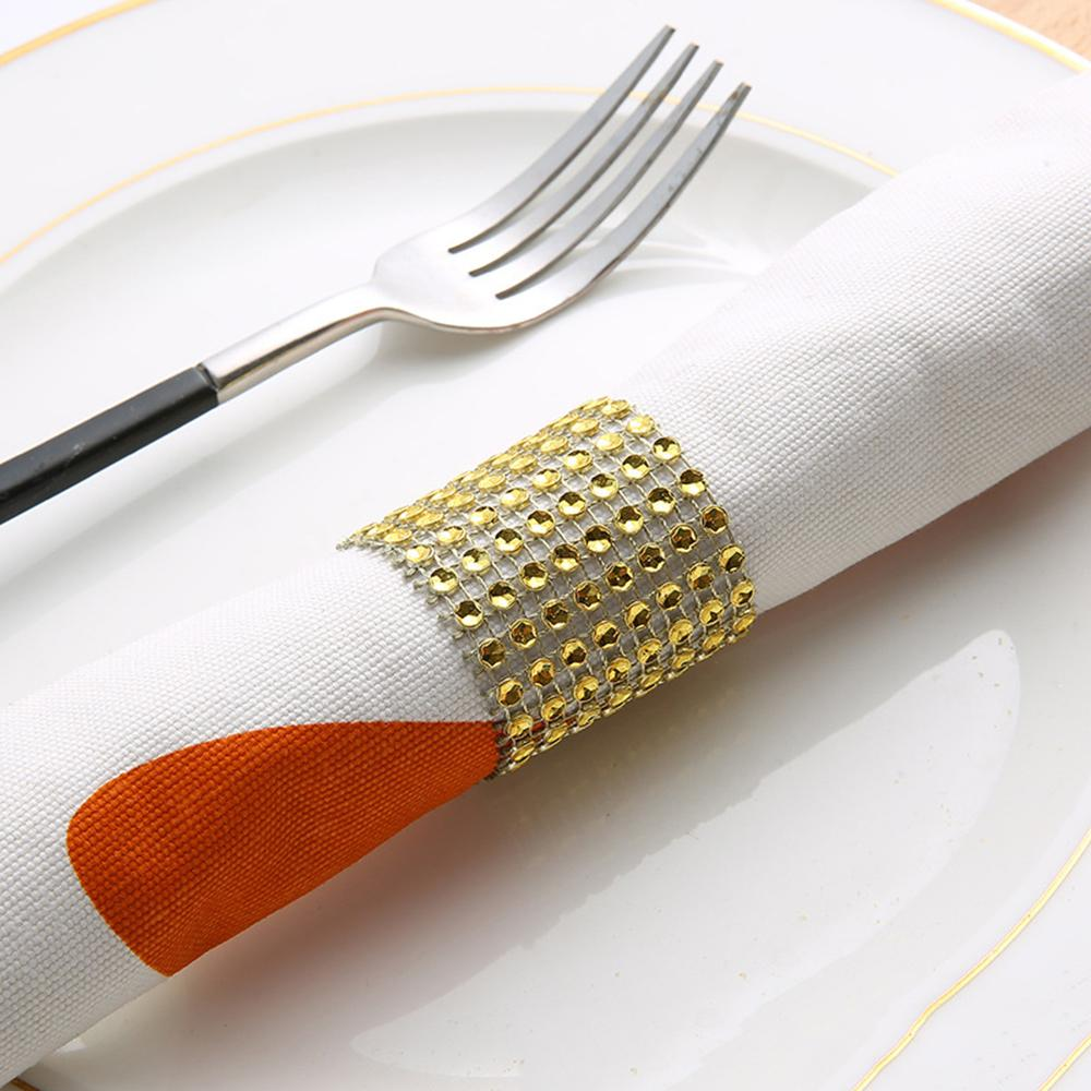 Diamond Napkin Rings Plastic Napkins Holder Rings For Wedding